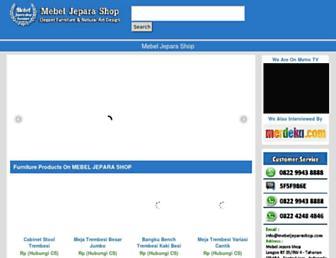 mebeljeparashop.com screenshot
