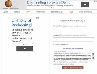 Thumbshot of Markettrendsignal.com