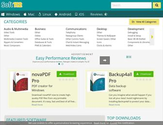 driver-booster.soft112.com screenshot