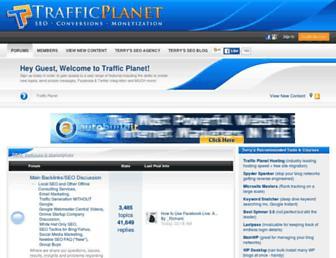 trafficplanet.com screenshot