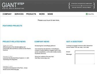 giantstep.ca screenshot