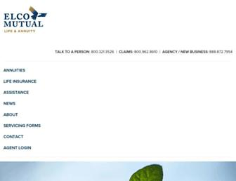 elcomutual.com screenshot