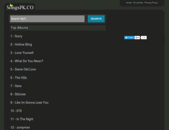 songspk.co screenshot