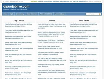 djpunjablive.com screenshot