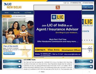 licnewdelhi.com screenshot