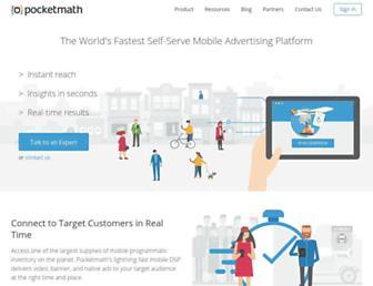 Thumbshot of Pocketmath.com