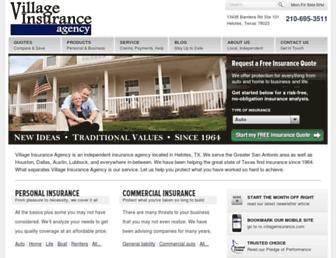 villageinsurance.com screenshot