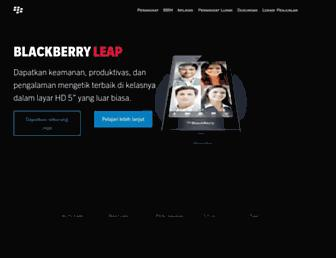 id.blackberry.com screenshot