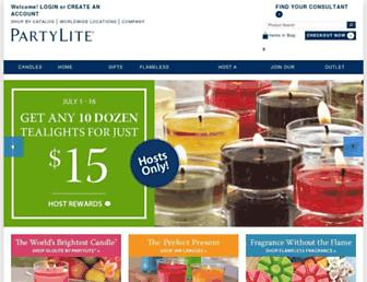 Thumbshot of Partylite.com