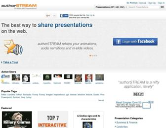 Thumbshot of Authorstream.com