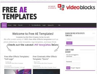 Thumbshot of Freeaetemplates.com