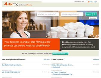 hotfrog.com.au screenshot
