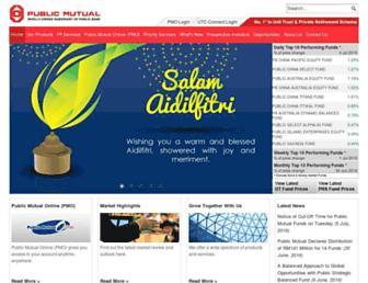 publicmutual.com.my screenshot