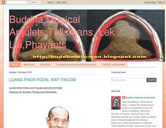 buddhatalisman.blogspot.com screenshot