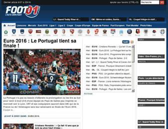 foot01.com screenshot