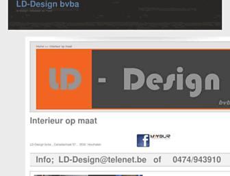 lddesign.be screenshot