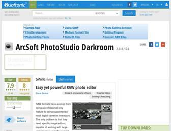 arcsoft-photostudio-darkroom.en.softonic.com screenshot