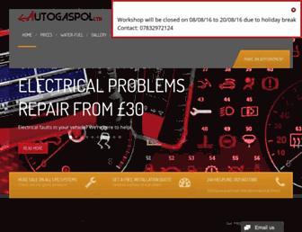 autogaspol.co.uk screenshot