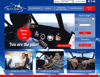 aviasim.com screenshot