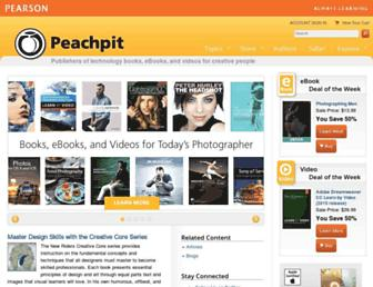 peachpit.com screenshot