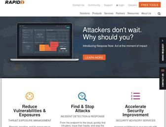 Thumbshot of Rapid7.com