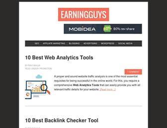earningguys.com screenshot