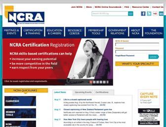 ncra.org screenshot