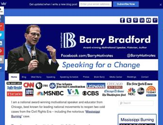 barrybradford.com screenshot