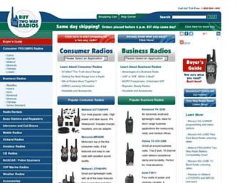 buytwowayradios.com screenshot