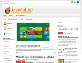 izzchal-xp.blogspot.com screenshot