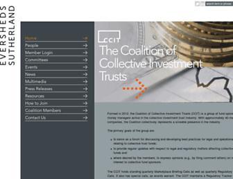 ctfcoalition.com screenshot