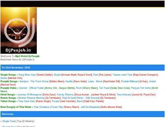 djpunjab.io screenshot