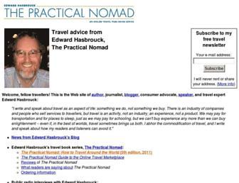 Main page screenshot of hasbrouck.org