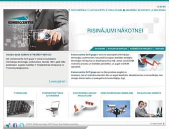kc.lv screenshot