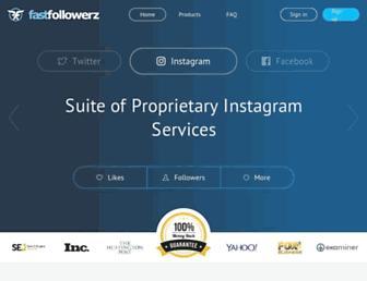 Thumbshot of Fastfollowerz.com