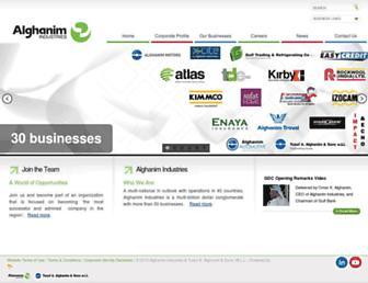 alghanim.com screenshot