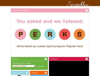 sprinkles.com screenshot