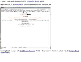 Main page screenshot of zgp.org