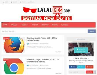 lalalinds.com screenshot