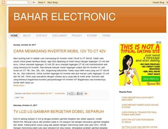 baharelectronic.com screenshot