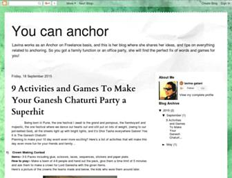lavinasyoucananchor.blogspot.com screenshot
