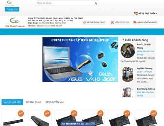 pinsaclaptop.vn screenshot