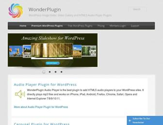 Thumbshot of Wonderplugin.com