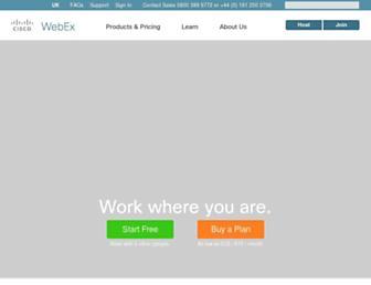 Thumbshot of Webex.co.uk