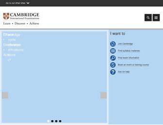 cie.org.uk screenshot