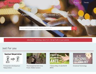redonapp.com screenshot