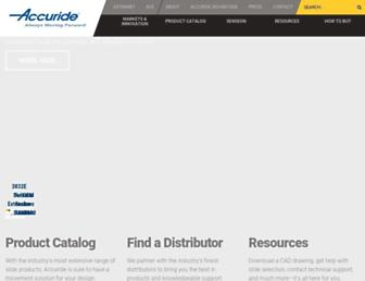 accuride.com screenshot