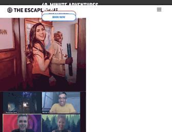theescapegame.com screenshot