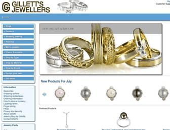 Thumbshot of Gilletts.com.au