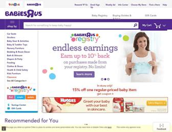 Thumbshot of Babiesrus.com